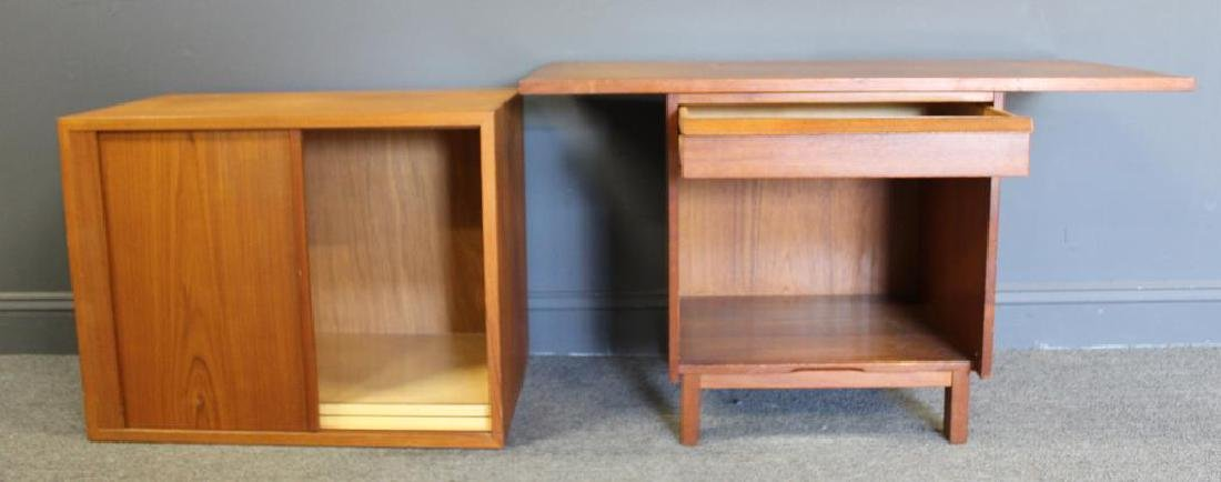 MIDCENTURY. 2 Signed Cabinets. - 2