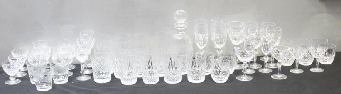 Waterford Crystal Lot of Stemware & Decanter.