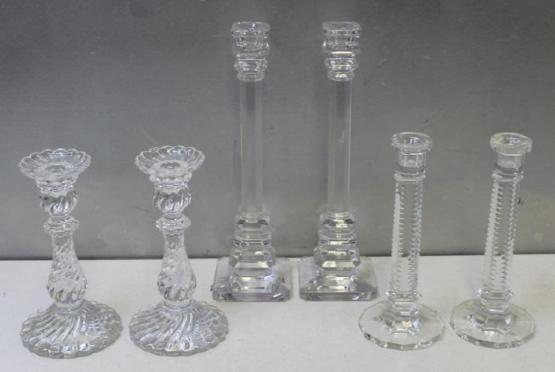 BACCARAT & St Lambert  Signed  Crystal