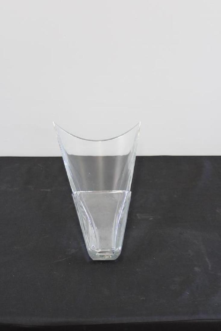 """BACCARAT. Signed """"Diva"""" Vase. - 3"""