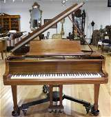 Steinway & Sons Model M Baby Grand Piano Serial#