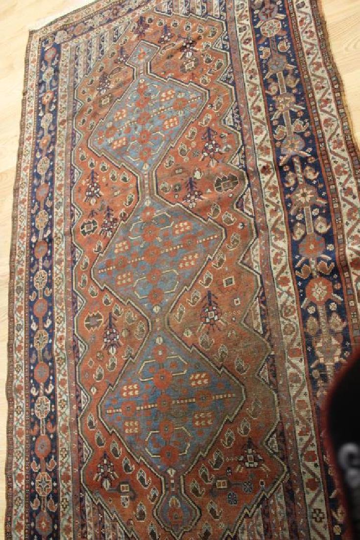Antique and Finely Hand Woven Afghar ?Carpet . - 5