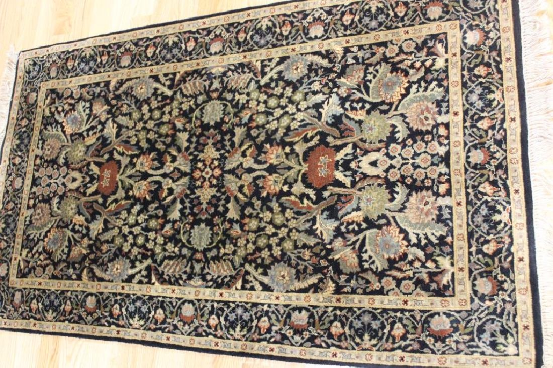 Pair of Vintage and finely Hand Woven Area - 2