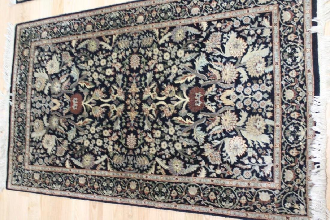 Pair of Vintage and finely Hand Woven Area - 3