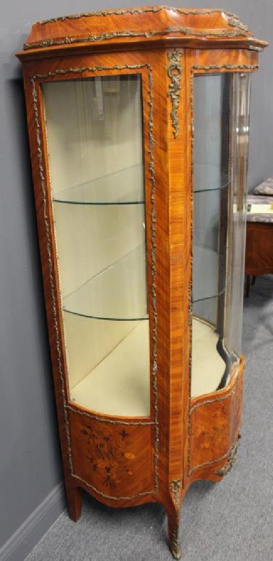 Antique and Fime Quality Continental Curved Glass - 4