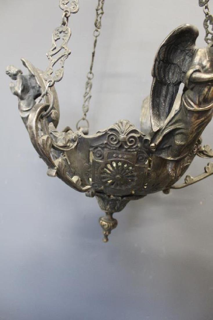 Antique Quality and Heavy Duty Silvered Metal - 9