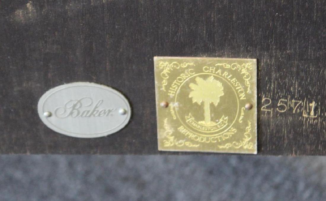 BAKER. Quality Banded and Inlaid Mahogany - 6