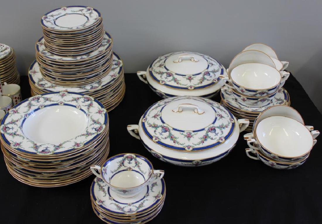 """Royal Worcester """"Rosemary"""" Porcelain Together - 4"""