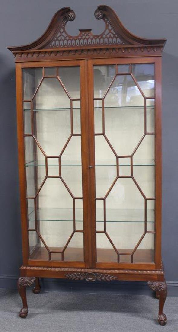 Impressive Antique Mahogany Chippendale Style - 2
