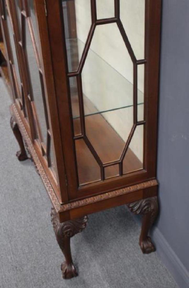Impressive Antique Mahogany Chippendale Style - 5