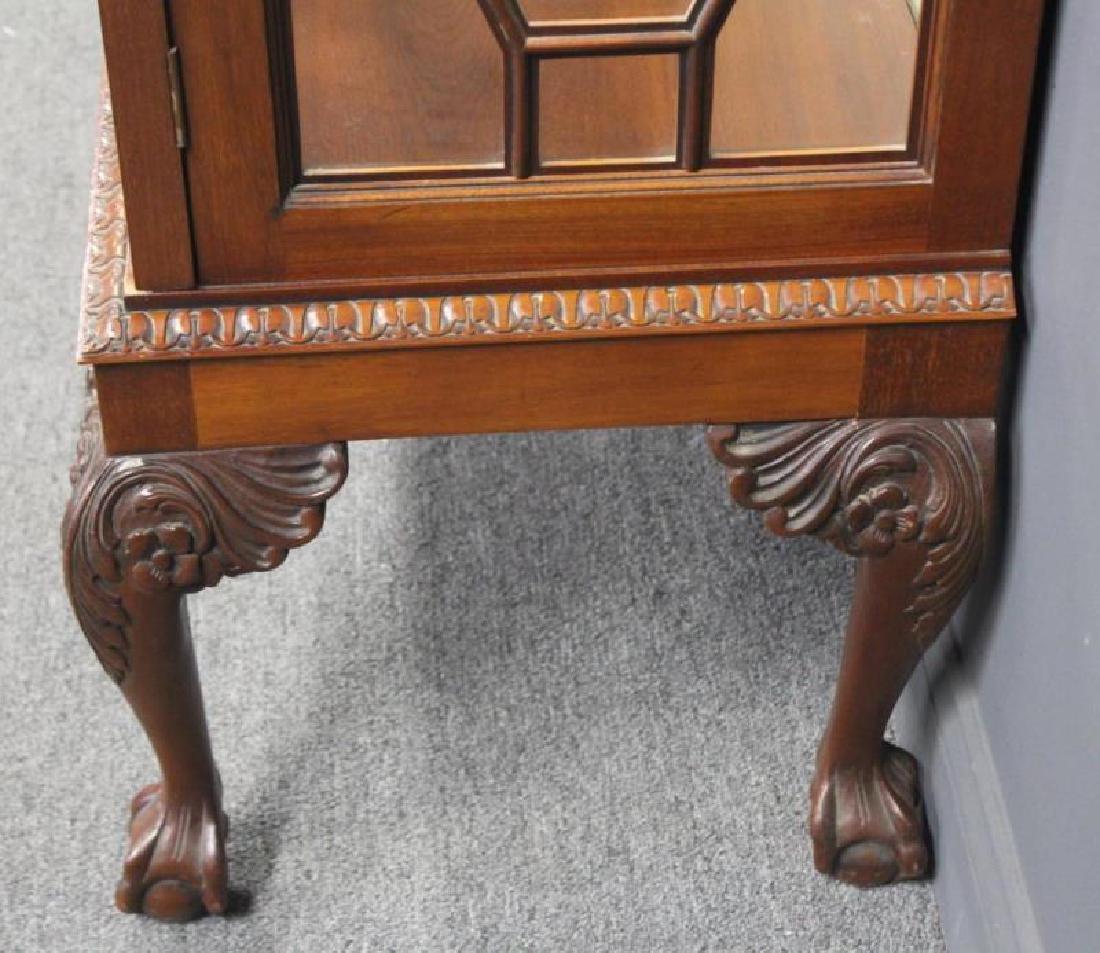 Impressive Antique Mahogany Chippendale Style - 8