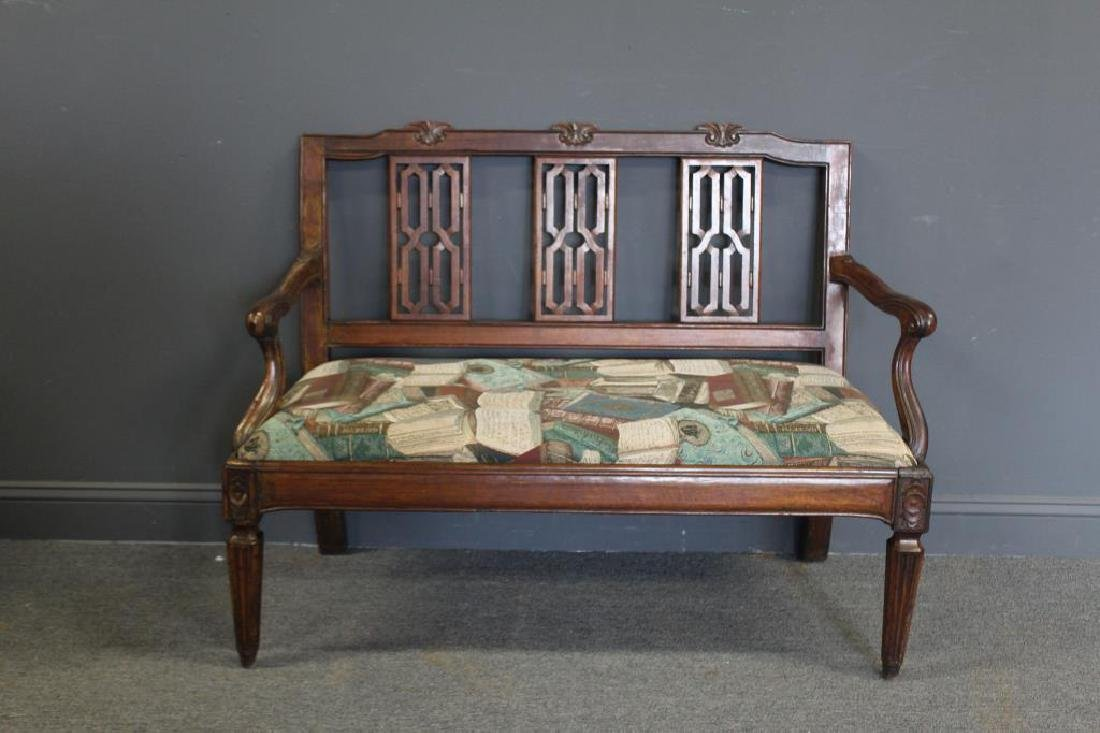 Antique Continental Settee.