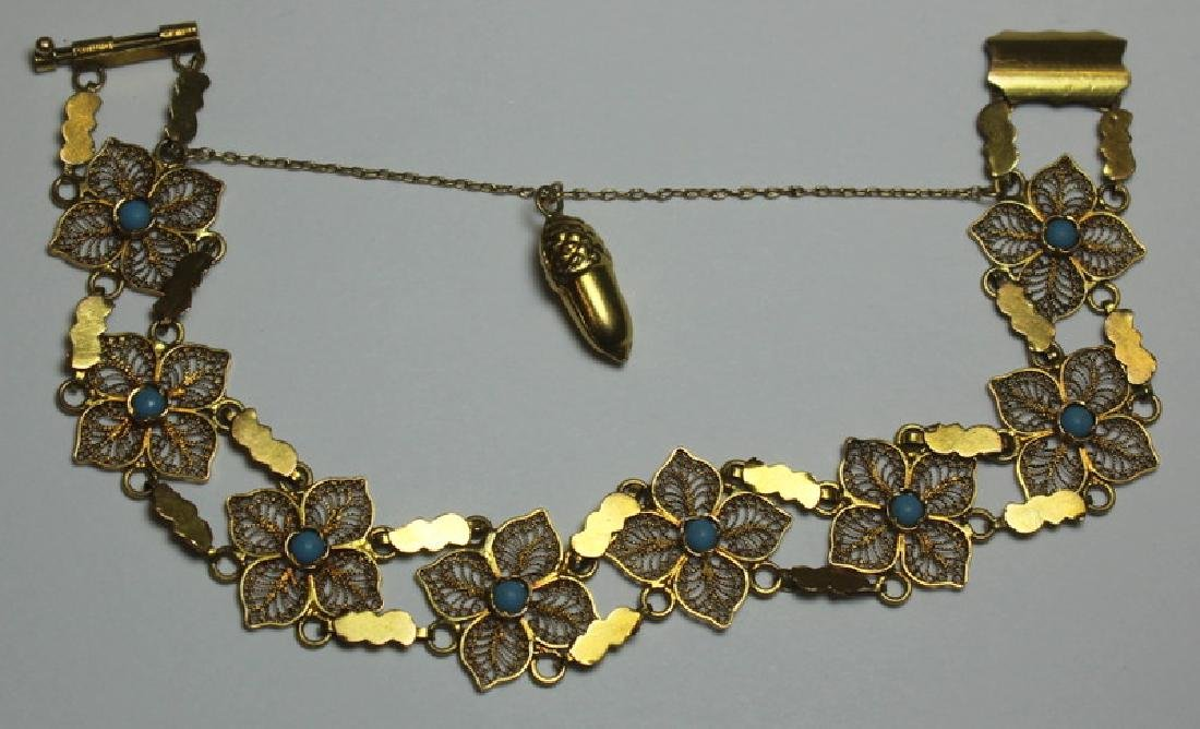 JEWELRY. Assorted Grouping of Gold Jewelry. - 2