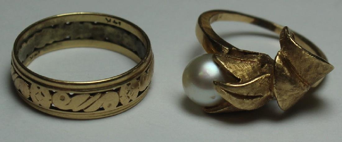 JEWELRY. Assorted Grouping of Gold Jewelry. - 3