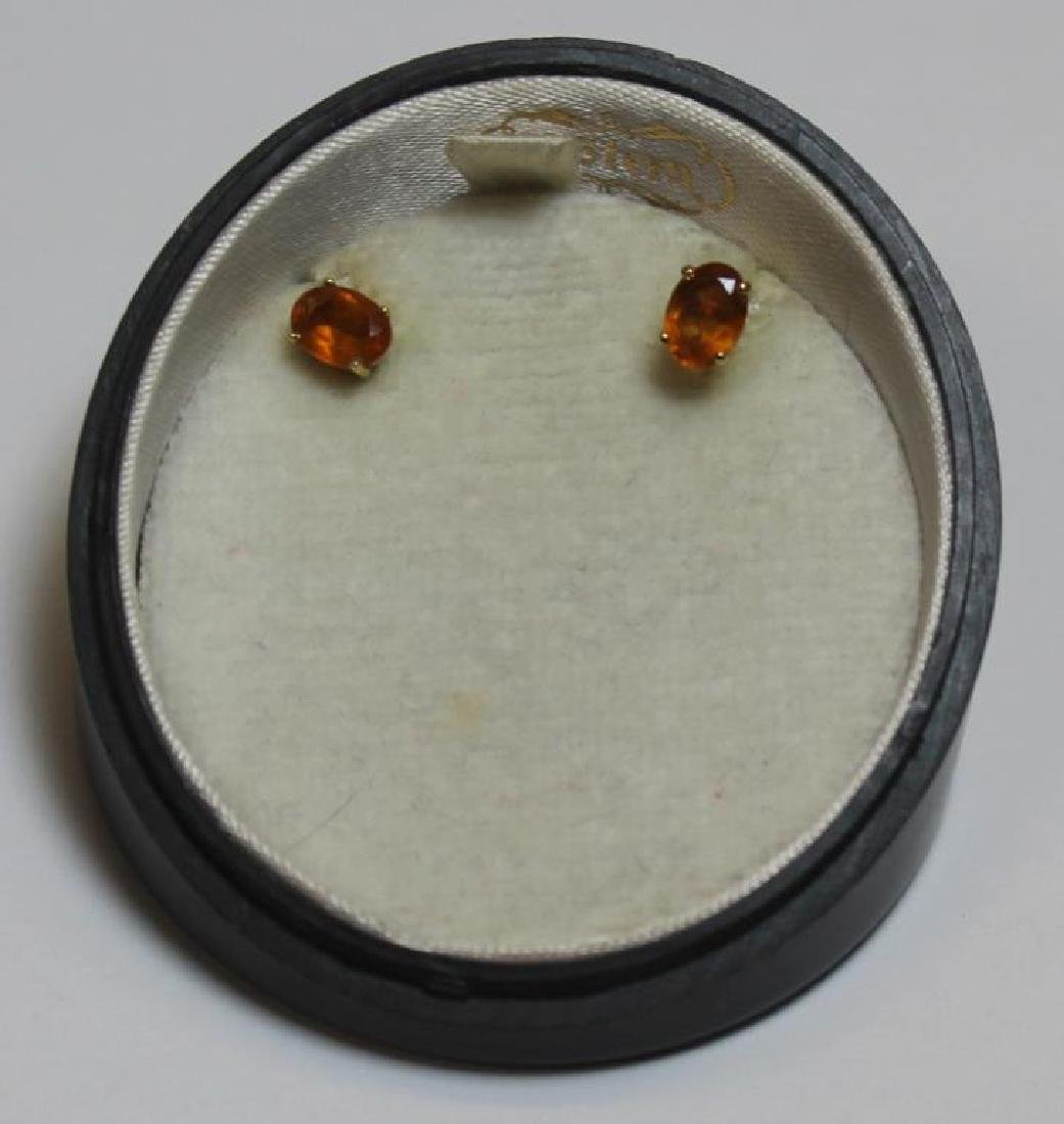 JEWELRY. Pair of H. Stern 18kt Gold and Citrine - 3