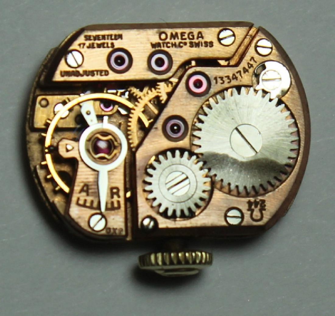 JEWELRY. Omega 14kt Gold Bracelet with Hidden - 6