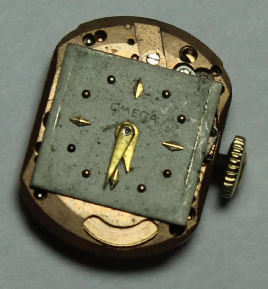 JEWELRY. Omega 14kt Gold Bracelet with Hidden - 7