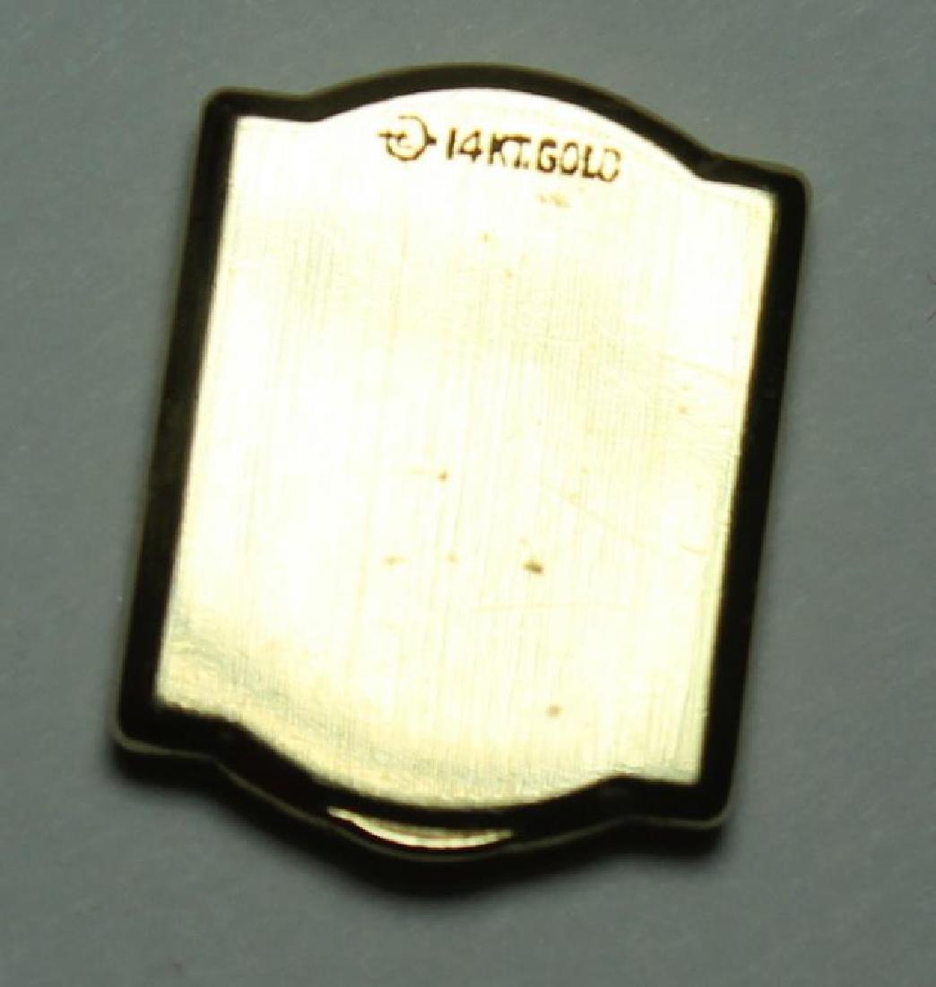 JEWELRY. Omega 14kt Gold Bracelet with Hidden - 8