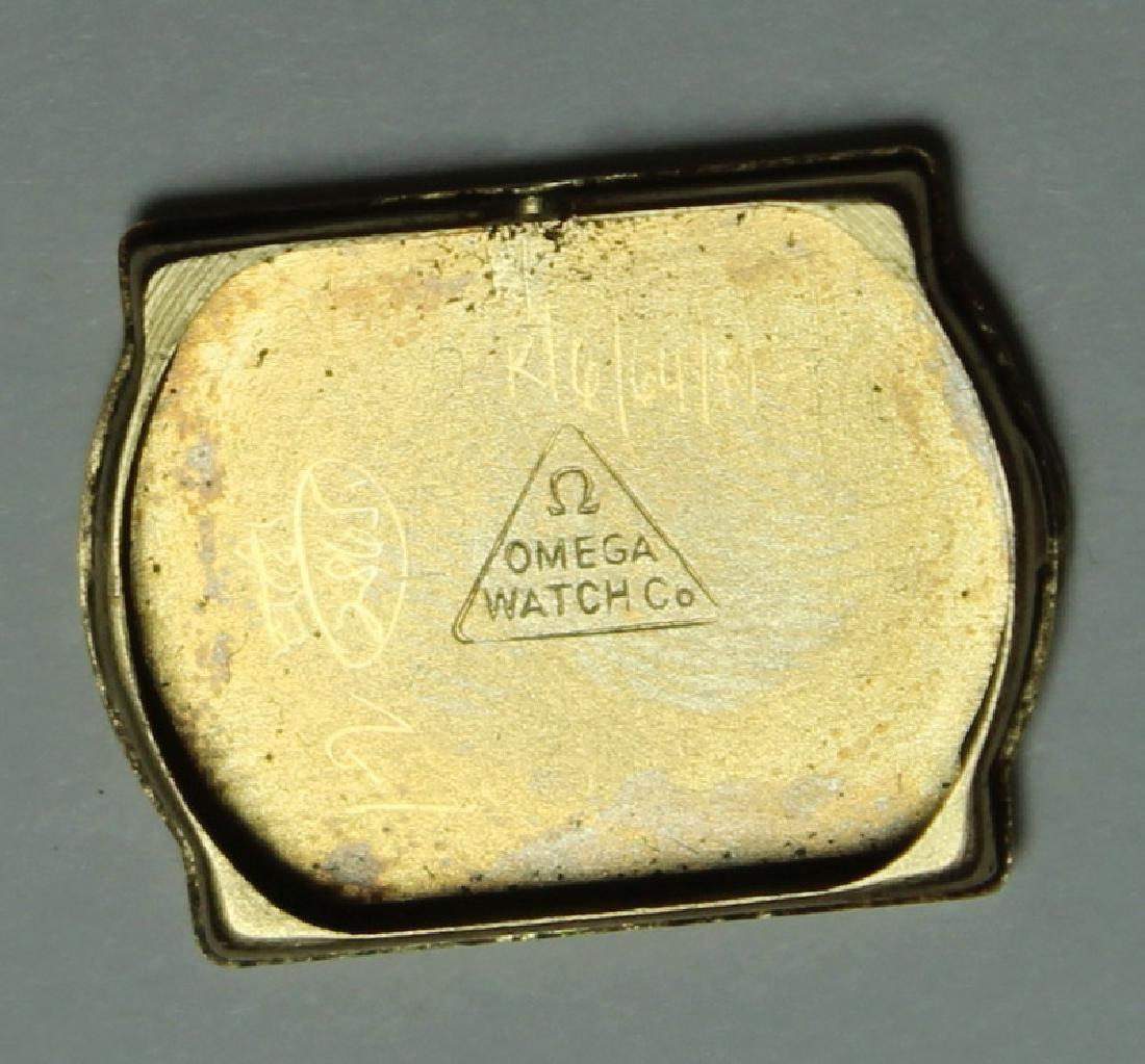 JEWELRY. Omega 14kt Gold Bracelet with Hidden - 9