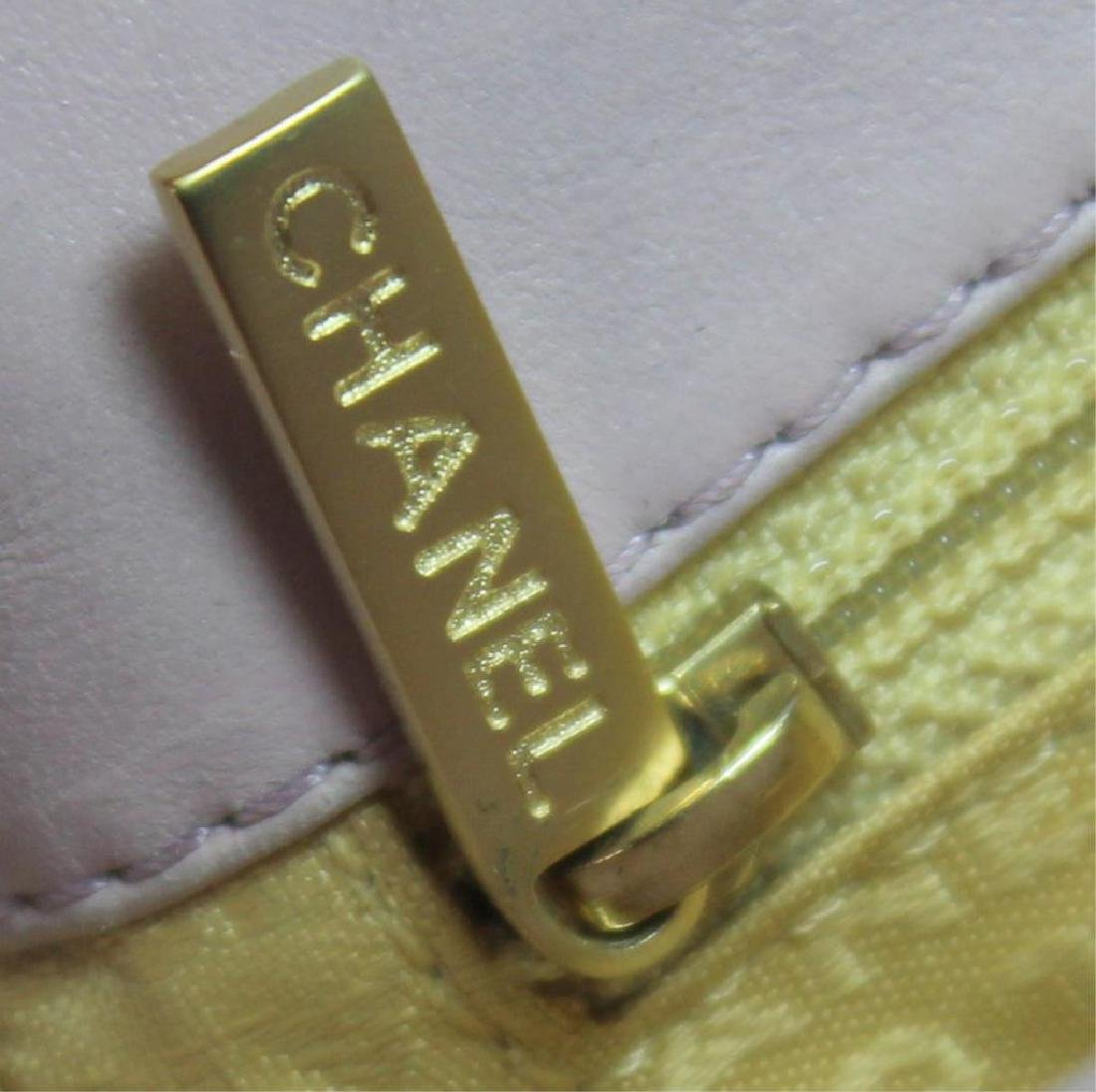 COUTURE. Chanel Lavender Quilted Leather Purse. - 7