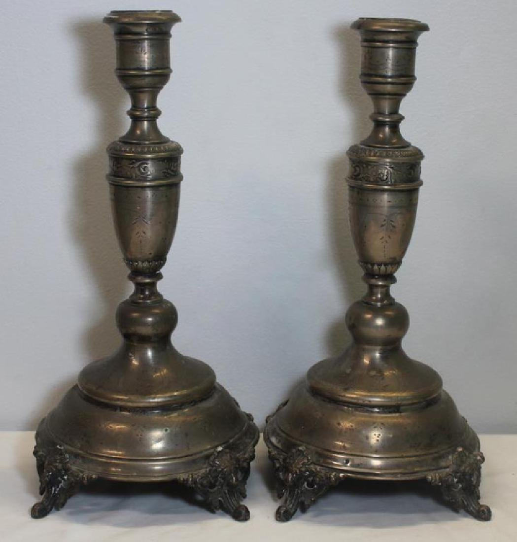 SILVER. Pair of Austro-Hungarian .800 Silver