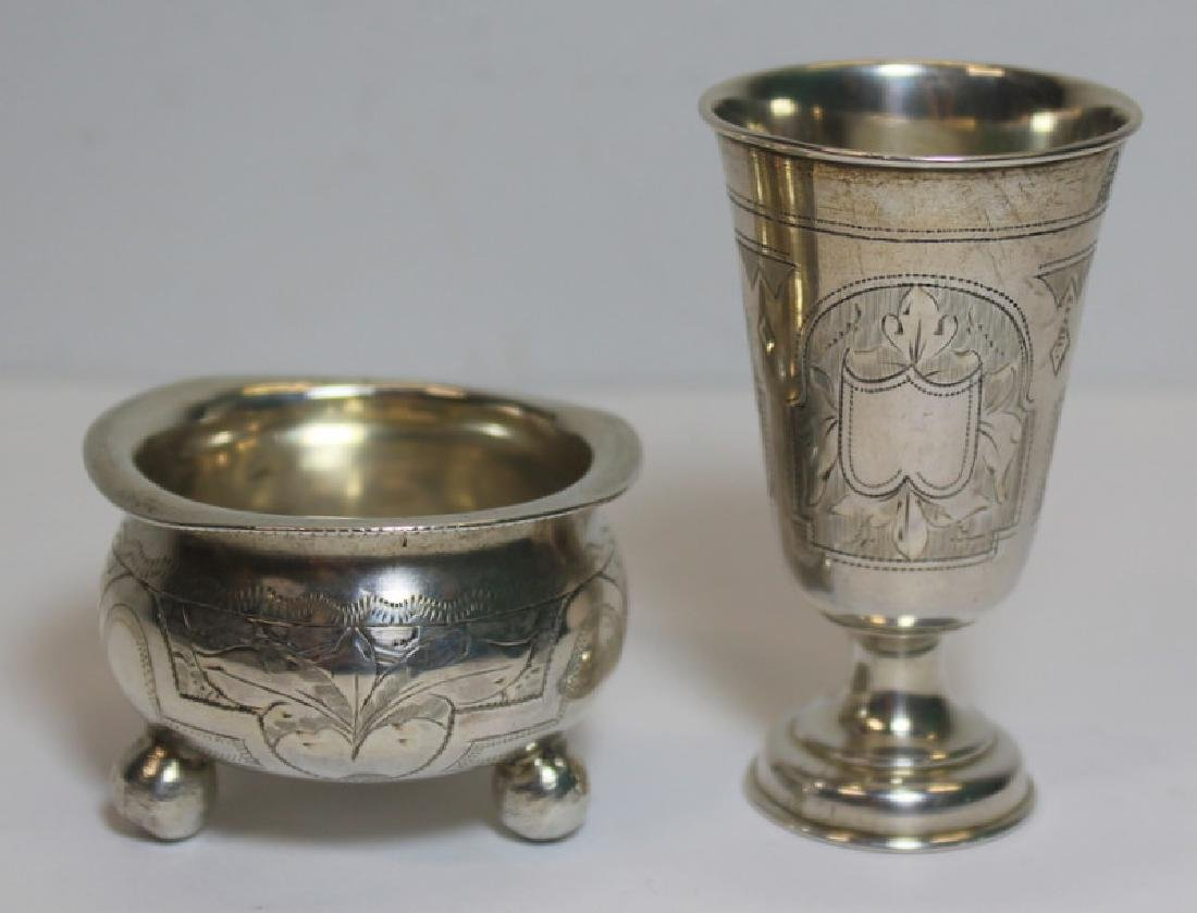 SILVER. Assorted Grouping of Continental Silver. - 10