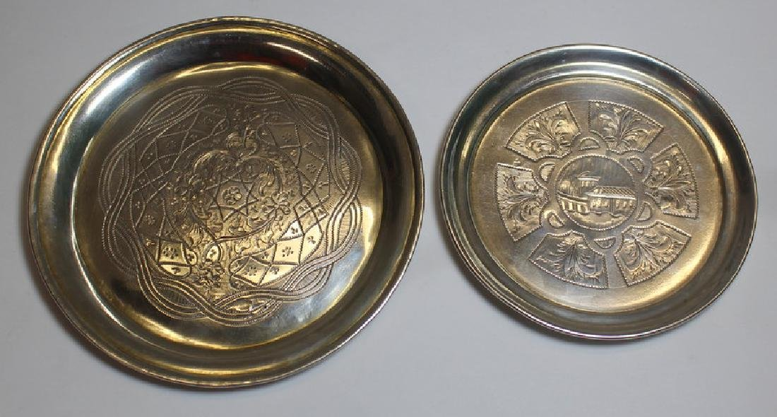 SILVER. Assorted Grouping of Continental Silver. - 6