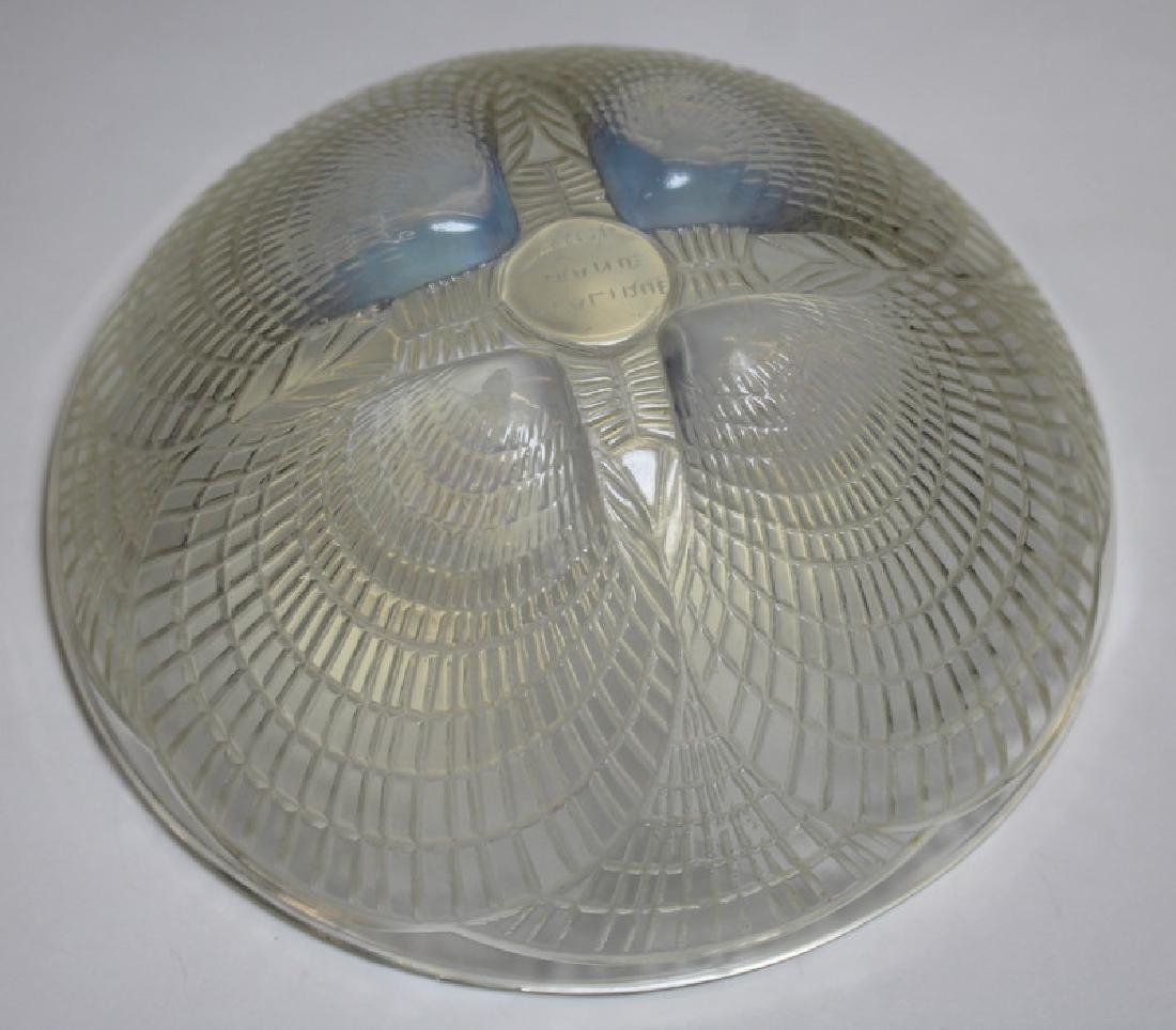 Rene Lalique Coquilles Opalescent Glass Bowl. - 3