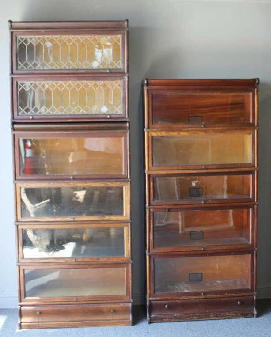 Lot of Globe Wernecke Barristers Bookcases.