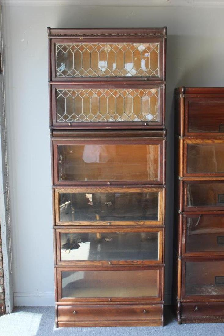 Lot of Globe Wernecke Barristers Bookcases. - 2