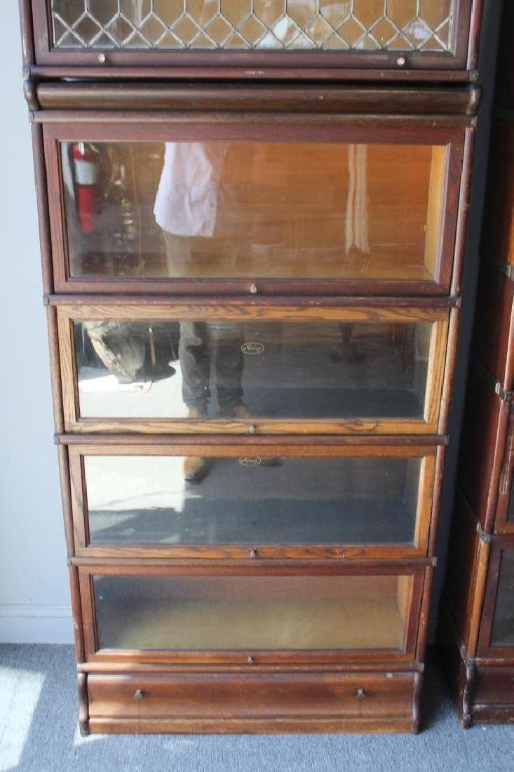 Lot of Globe Wernecke Barristers Bookcases. - 3