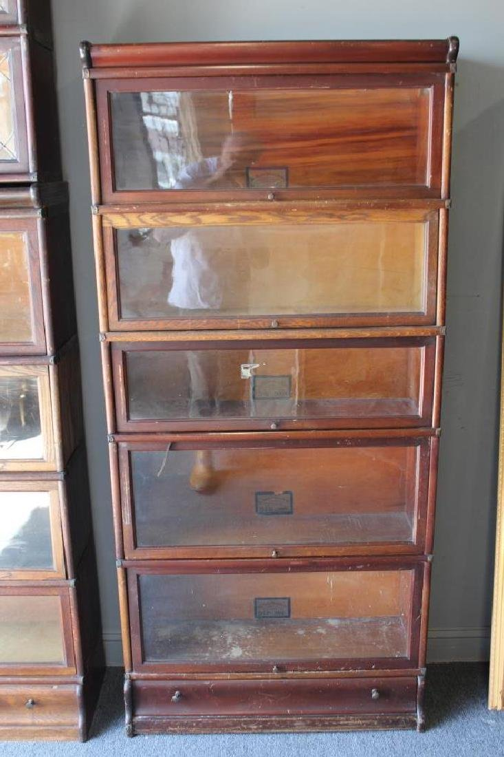 Lot of Globe Wernecke Barristers Bookcases. - 5