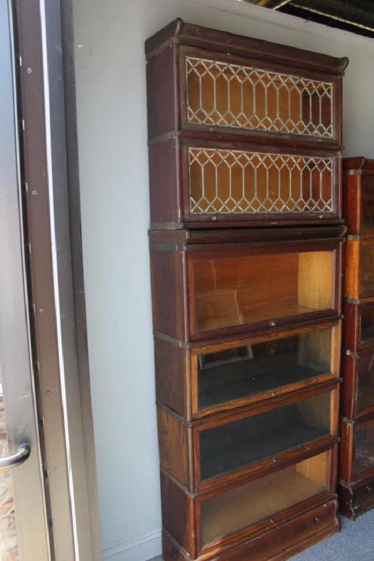 Lot of Globe Wernecke Barristers Bookcases. - 6