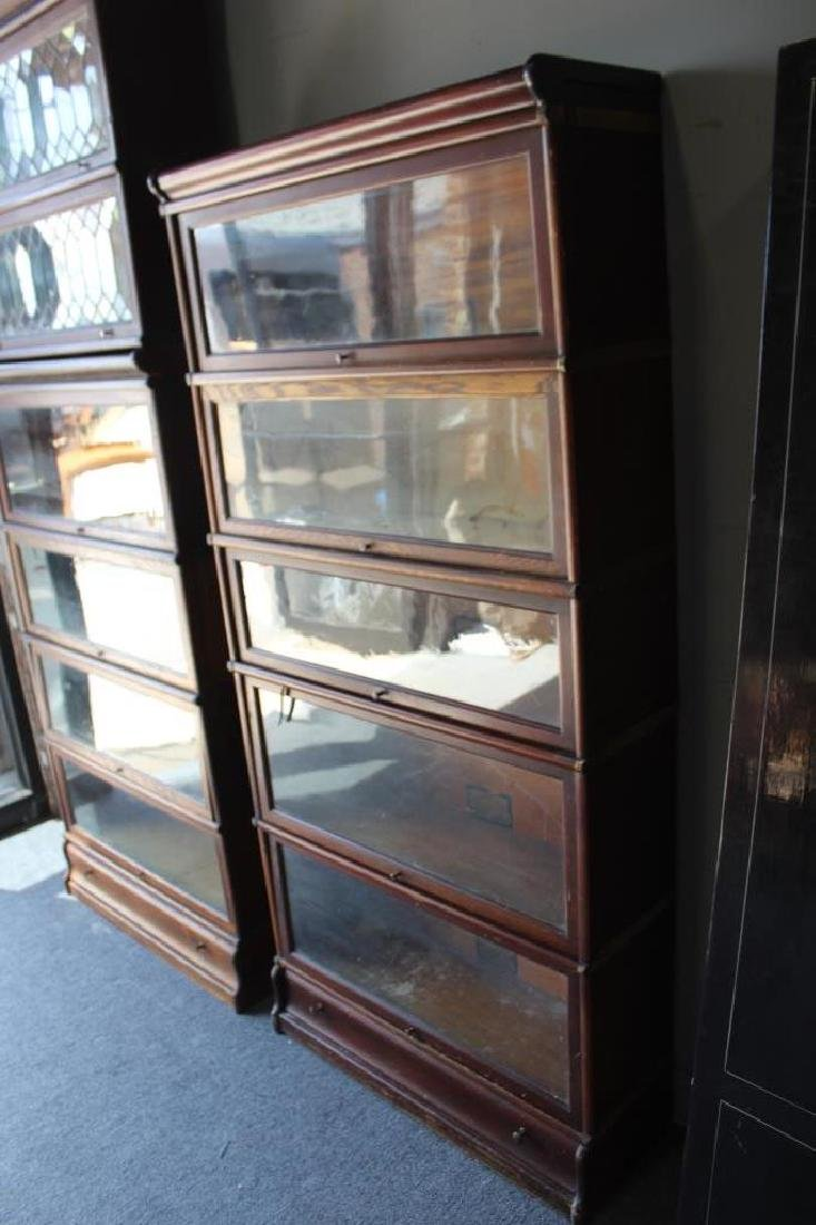 Lot of Globe Wernecke Barristers Bookcases. - 7
