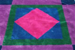 Vintage and Decorative Edward Fields Wool  Rug with
