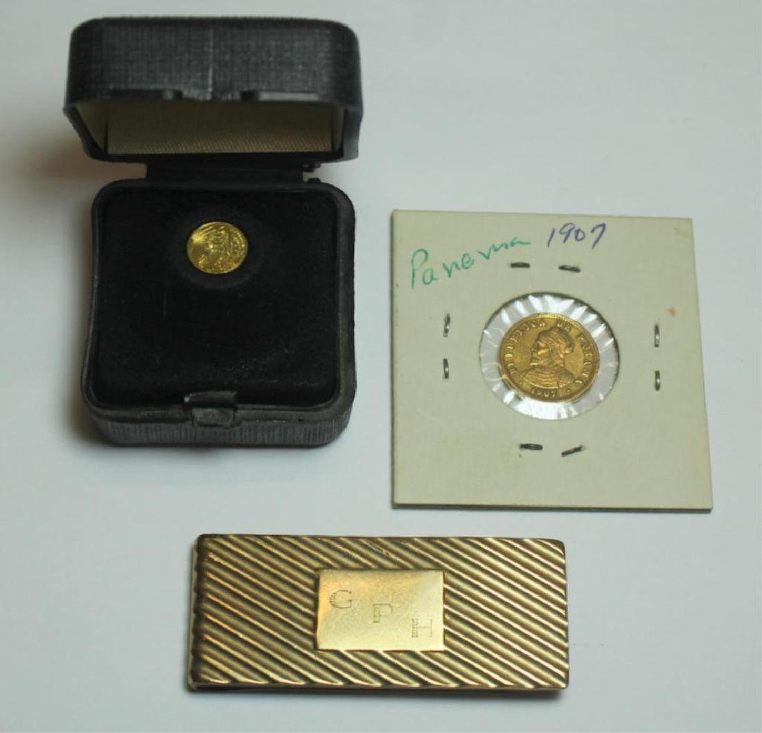 JEWELRY & COINS. Assorted Grouping of Gold Jewelry - 7