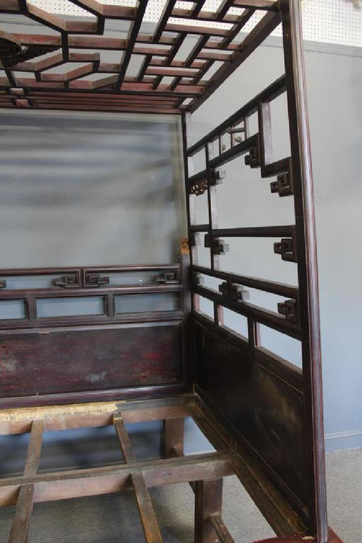 Chinese Antique Opium Bed. - 10