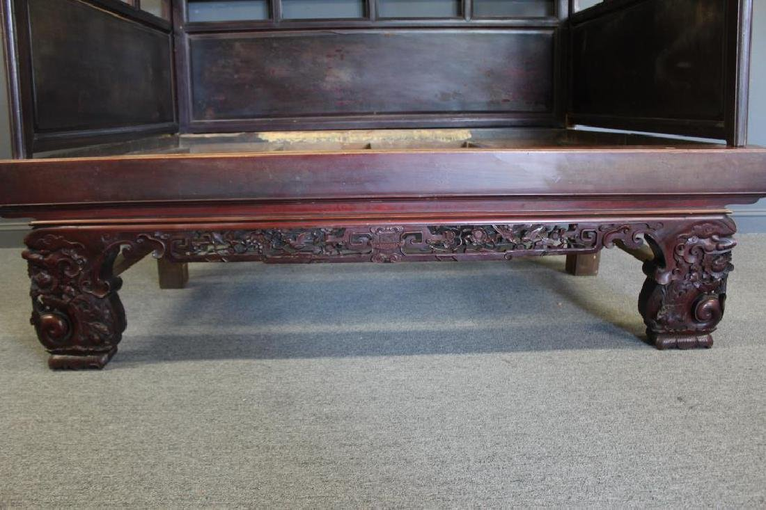 Chinese Antique Opium Bed. - 11