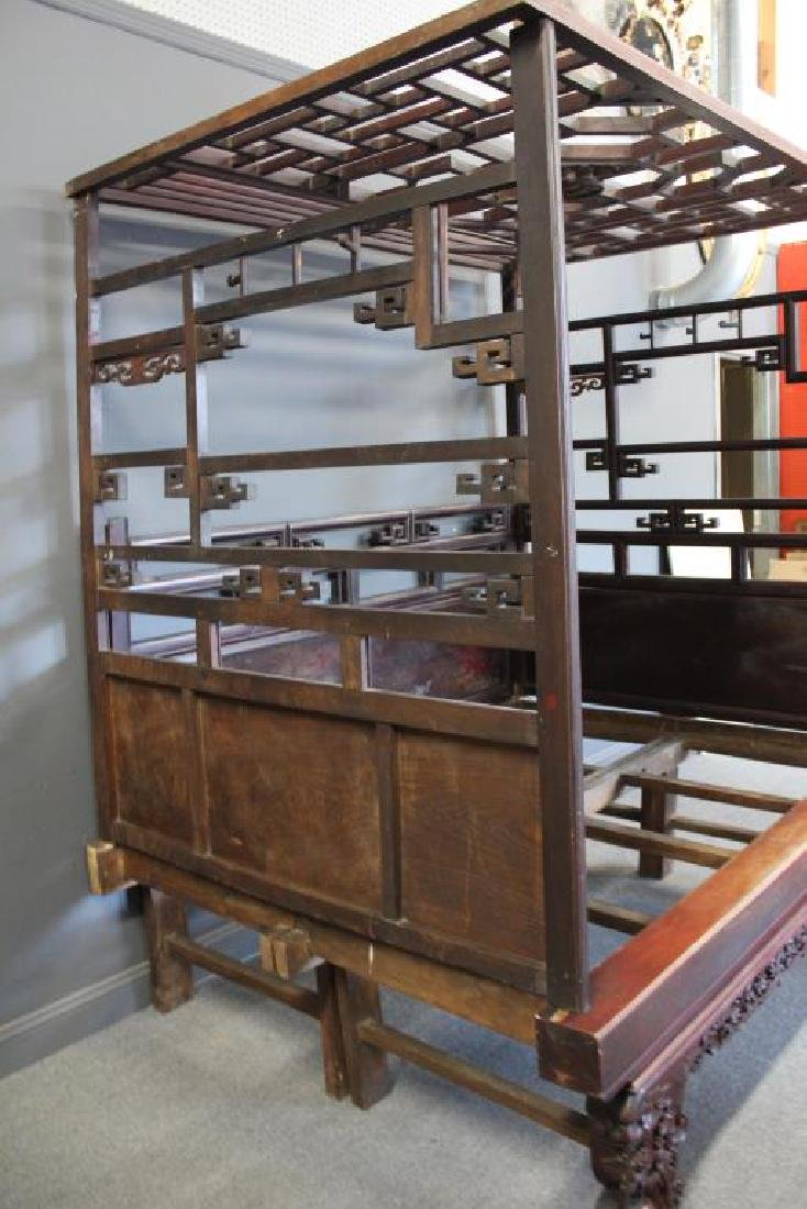 Chinese Antique Opium Bed. - 12