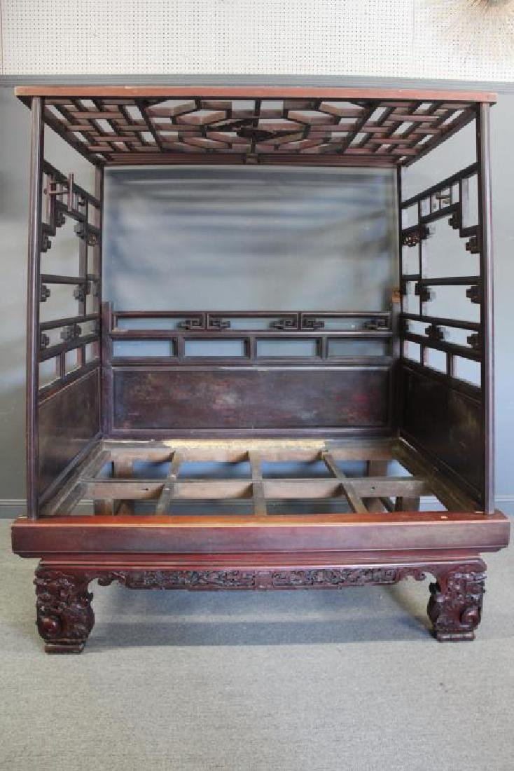 Chinese Antique Opium Bed.