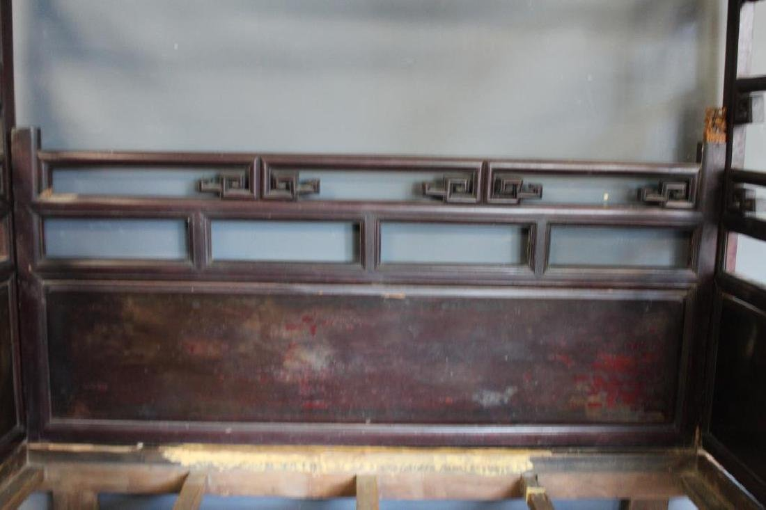 Chinese Antique Opium Bed. - 6