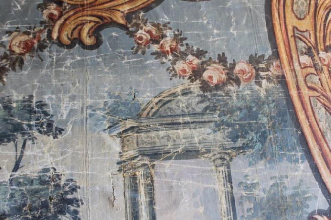 Large Antique Framed Tapestry. - 11