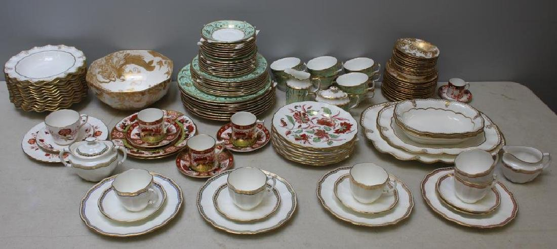 Large Lot of Assorted Royal Crown Derby. - 2