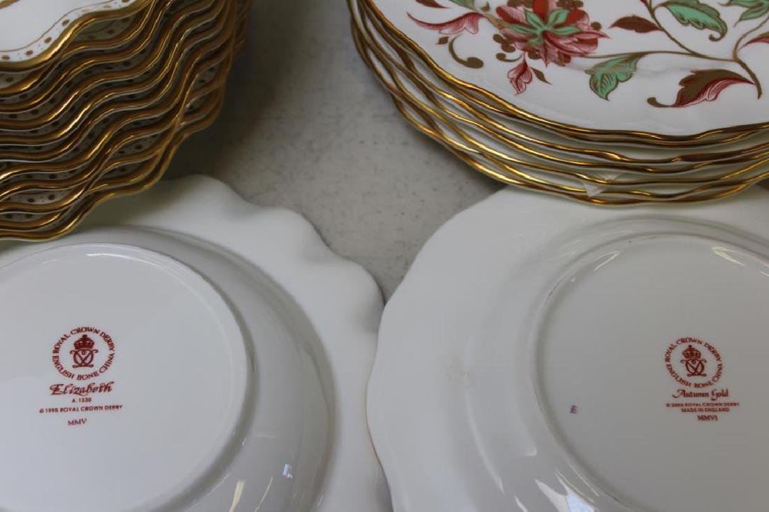 Large Lot of Assorted Royal Crown Derby. - 9