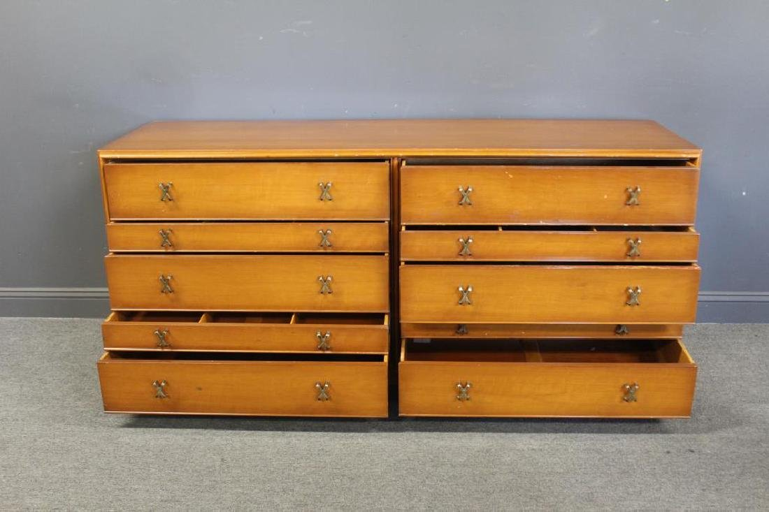 MIDCENTURY. Paul Frankl Double Dresser - 5