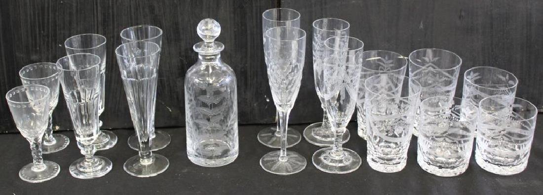 Assorted Lot of William Yeoward Crystal.