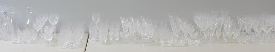 Large Lot of Assorted Waterford Crystal Goblets, - 2
