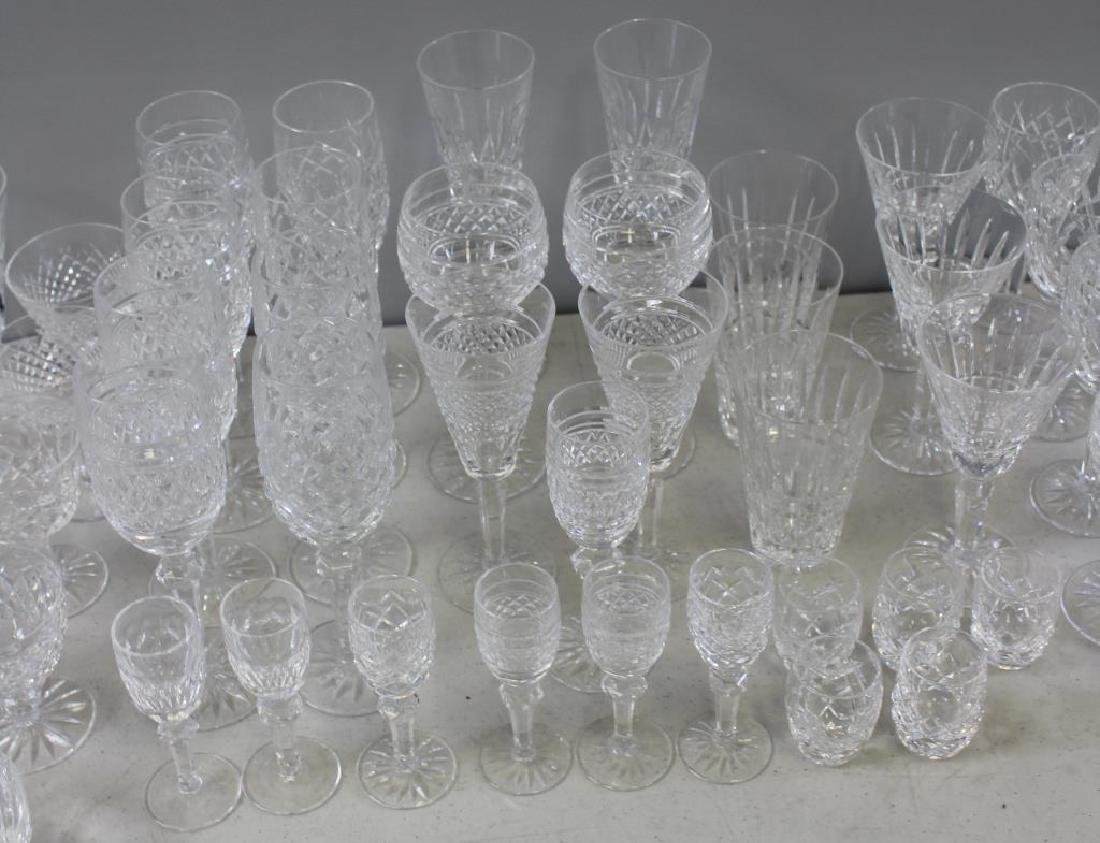 Large Lot of Assorted Waterford Crystal Goblets, - 4