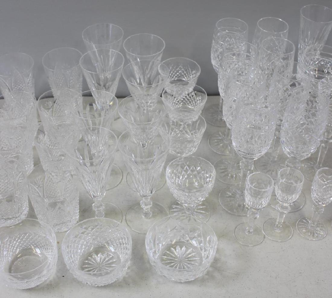 Large Lot of Assorted Waterford Crystal Goblets, - 5