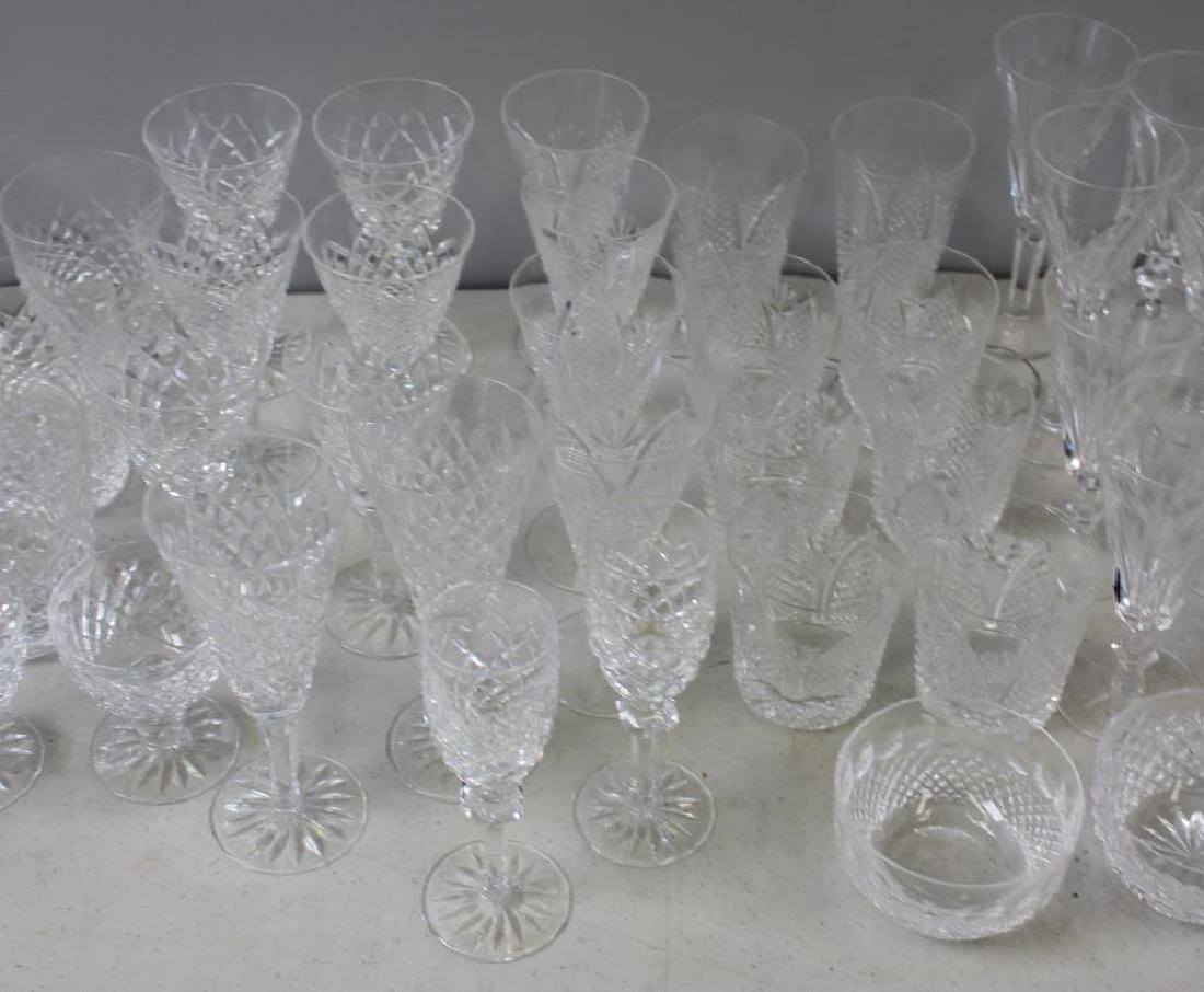 Large Lot of Assorted Waterford Crystal Goblets, - 6